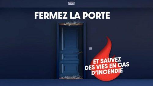 Lancement de la campagne de prévention incendie «Fermez la porte!»