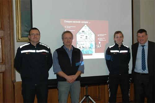 Un nouveau service important en zone de secours en Wallonie picarde